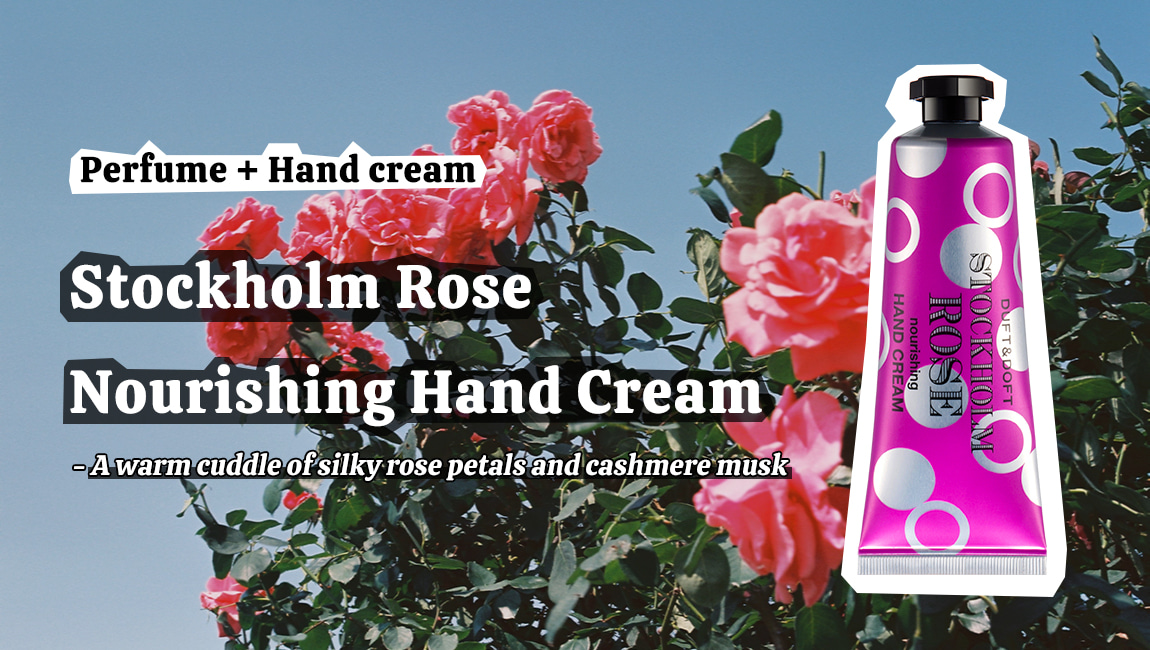 Duft and Doft Stockholm Rose Nourishing Hand Cream