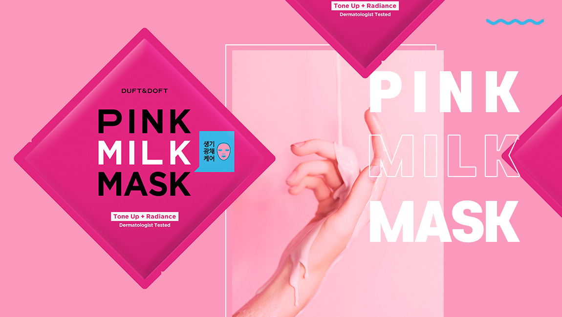 Duft and Doft Pink milk mask