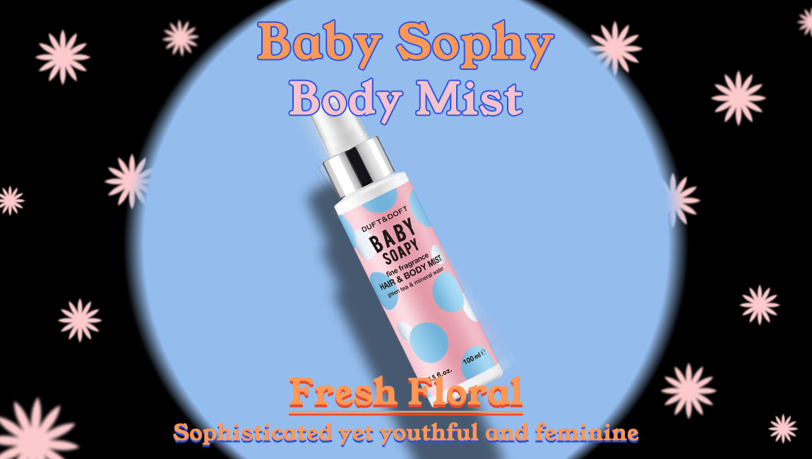 Duft and Doft Baby Soapy Hair and Body mist
