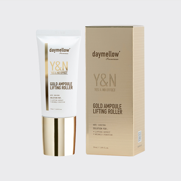 DAYMELLOW Yes&No Effect Gold Ampoule Lifting Roller,K Beauty