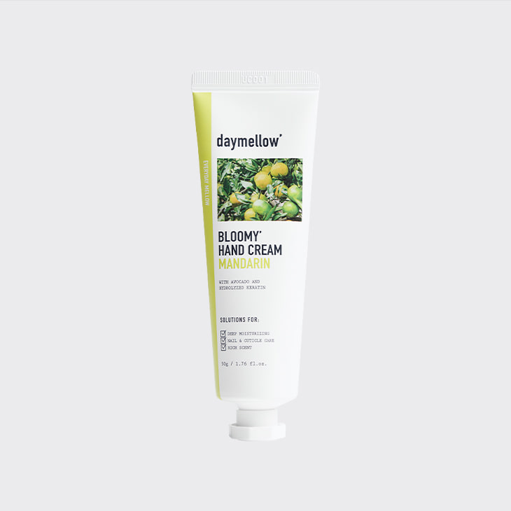 DAYMELLOW Bloomy Mandarin Hand Cream,K Beauty